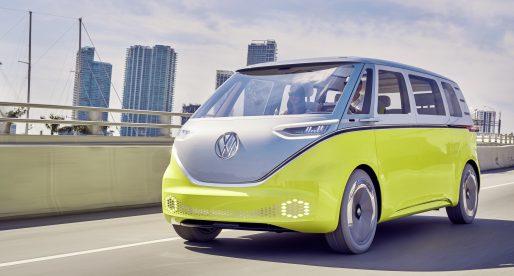Znovuzrozený kultovní mikrobus od Volkswagenu má pohánět umělá inteligence od NVIDIA
