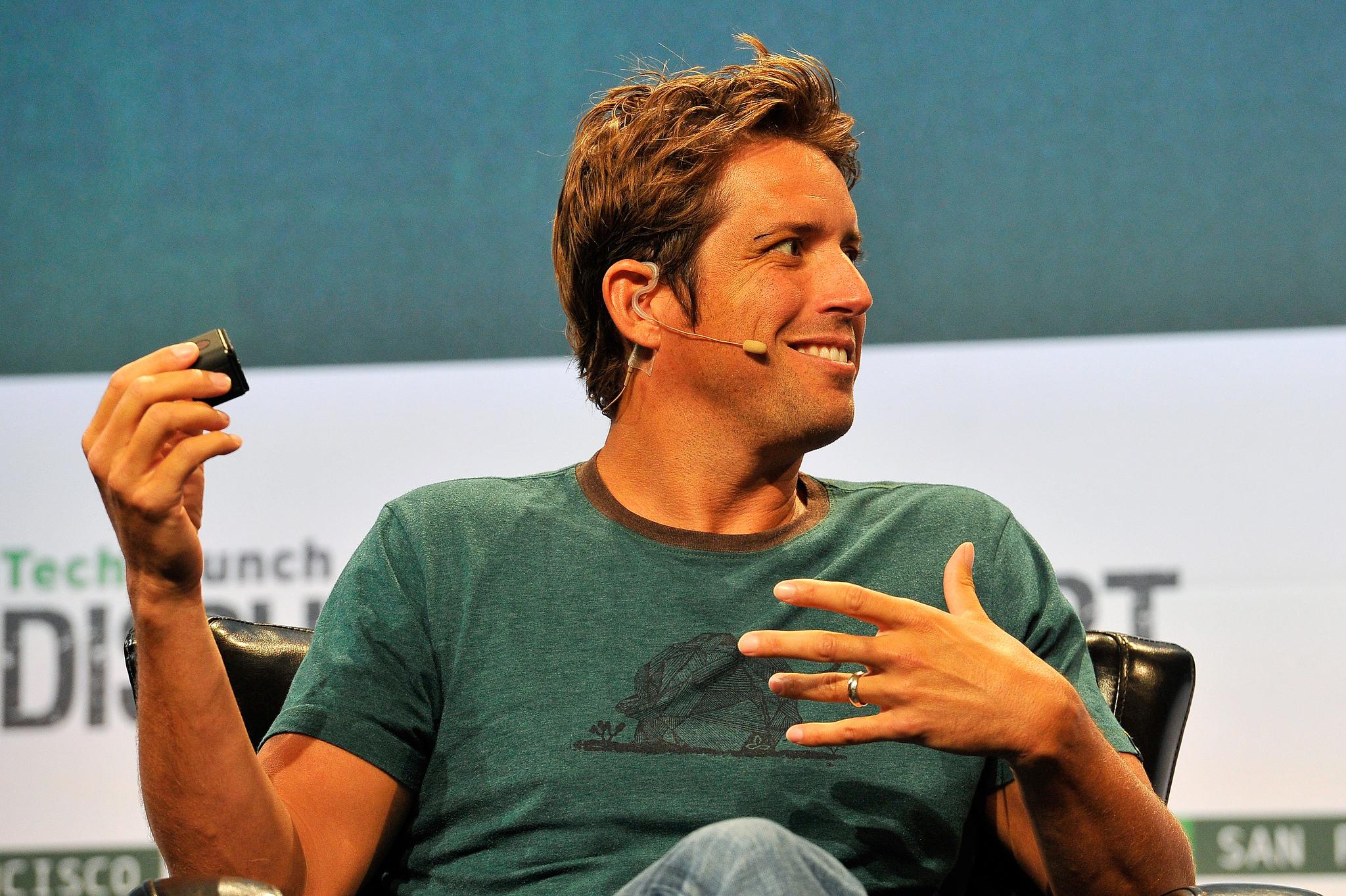 Nick Woodman, zakladatel a CEO společnosti GoPro