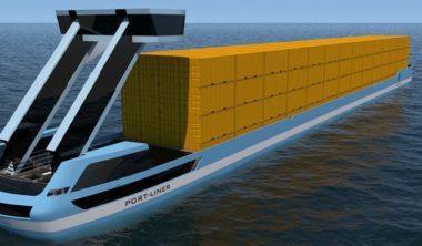 Port-Liner-electric-barge