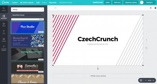 Online grafický nástroj Canva se zařadil s investicí 40 milionů dolarů mezi miliardové startupy