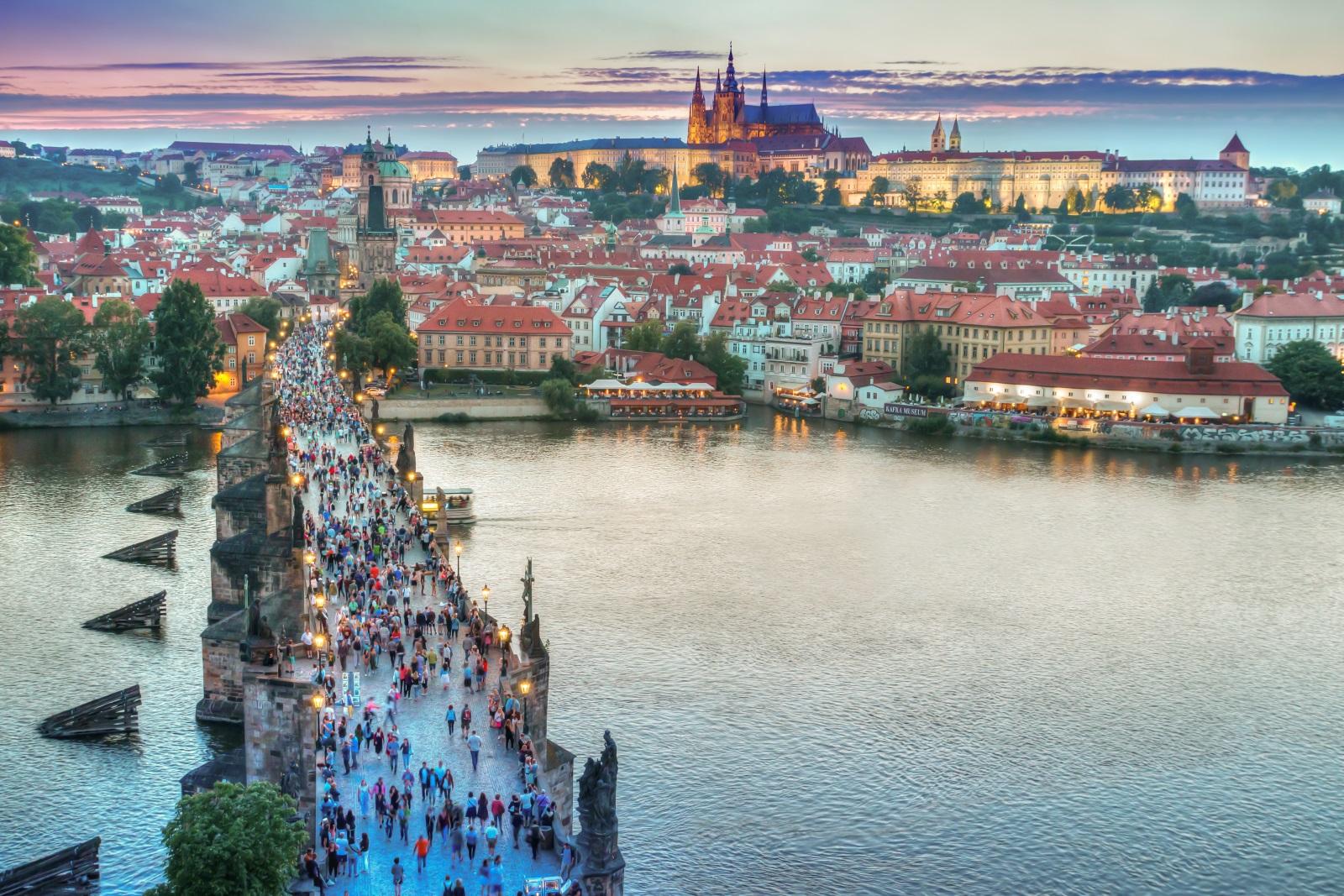 Pražský hrad, který by se mohl stát příští adresou Jiřího Drahoše