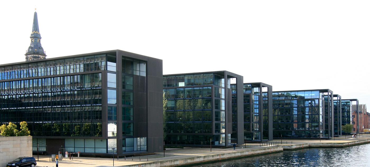 Sídlo banky v Kodani