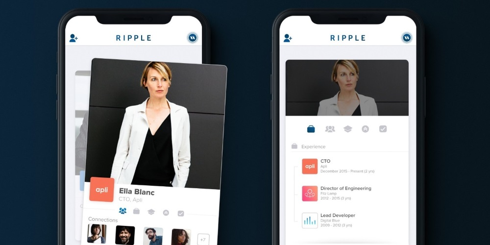 Bývalý CTO Tinderu spouští seznamovací aplikaci Ripple, která se chce poučit z chyb LinkedInu