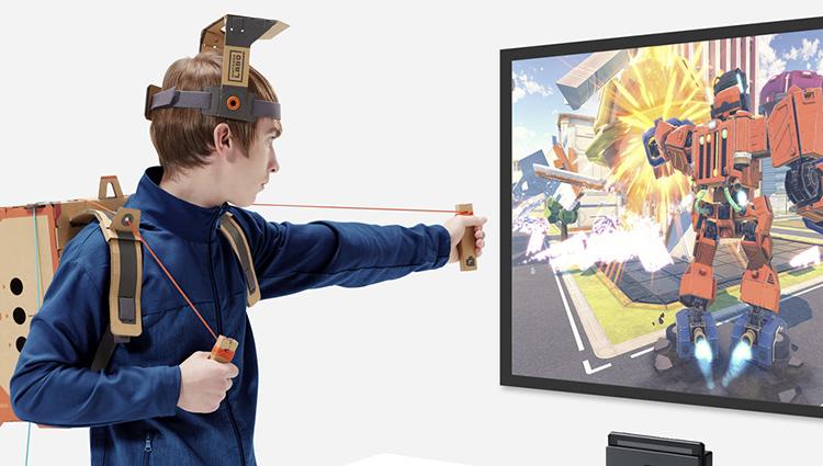 Nintendo představilo projekt Labo pro tvorbu kartonového příslušenství na konzoli Switch