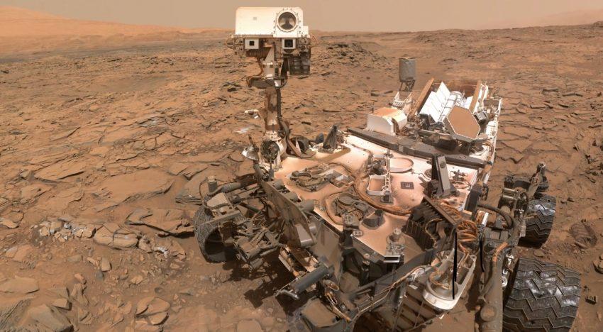 NASA zveřejnila unikátní panorama z Marsu zachycené sondou Curiosity