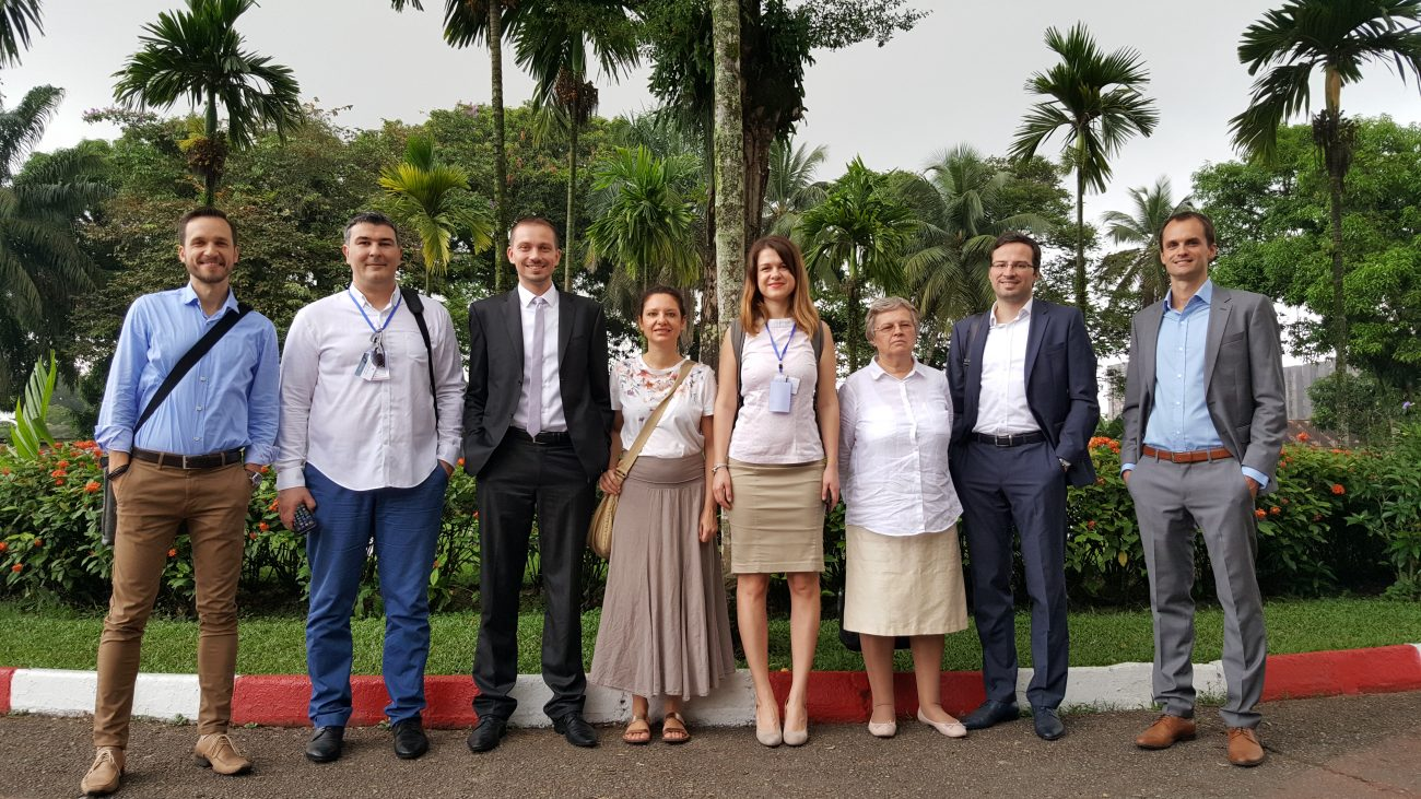Delegace evropské komise programu Ready2Go v Kamerunu v rámci výstavy PM Exchange