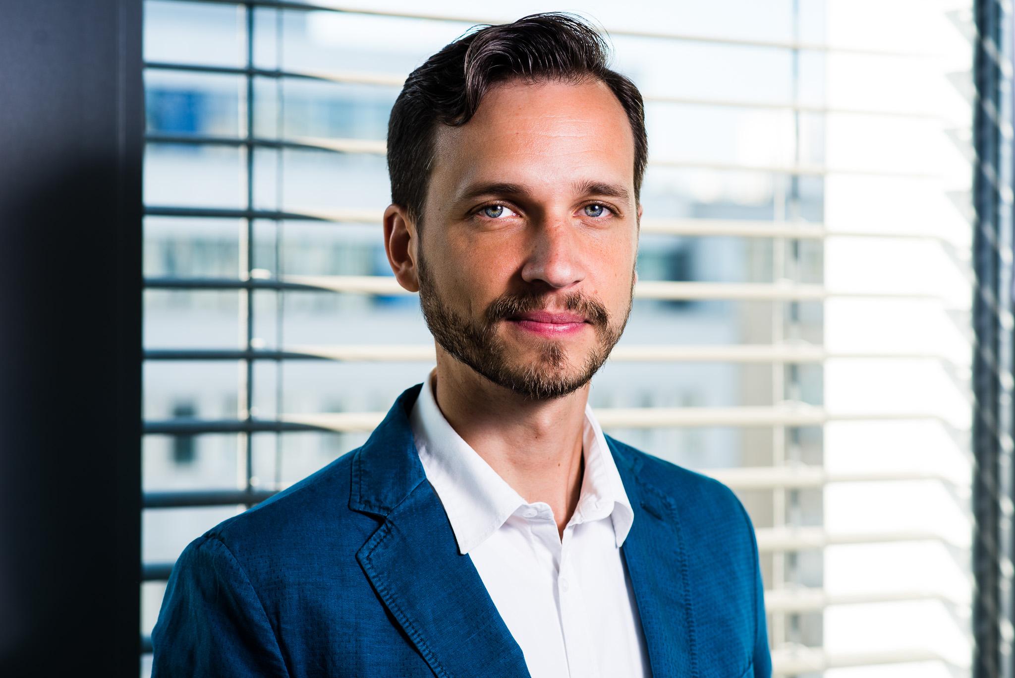Marian Drienský, CEO startupu CleverFarm