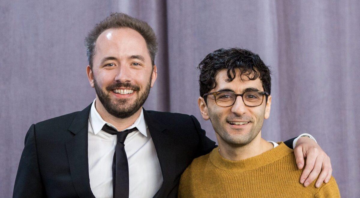 Zakladatelé Dropboxu, Drew Houston a Arash Ferdowsi