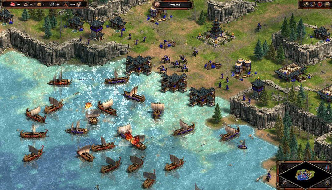 Remaster kultovní strategické hry Age of Empires je oficiálně venku