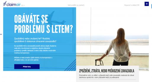 Český startup ClaimAir pomáhá se získáním kompenzací za opožděné lety či ztracená zavazadla