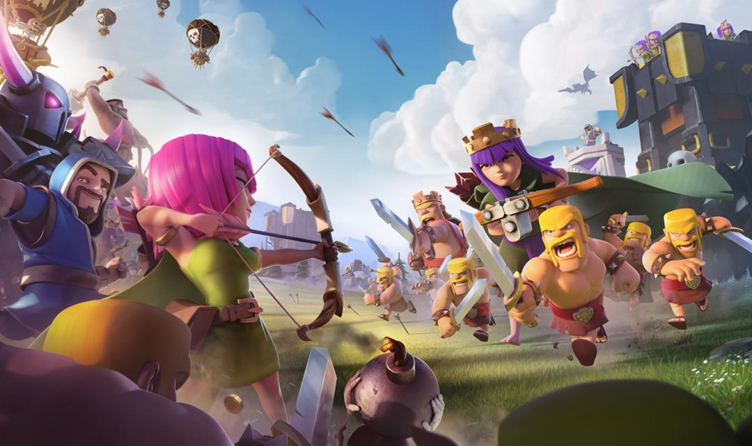 Tvůrci superúspěšné hry Clash of Clans loni vydělali v přepočtu přes 16 miliard Kč
