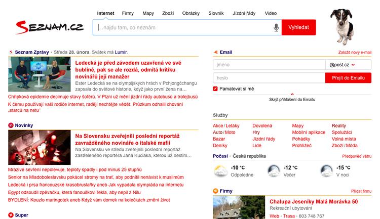 Seznam.cz nyní nabízí inzerentům Skliku možnost neinzerovat na dezinformačních webech
