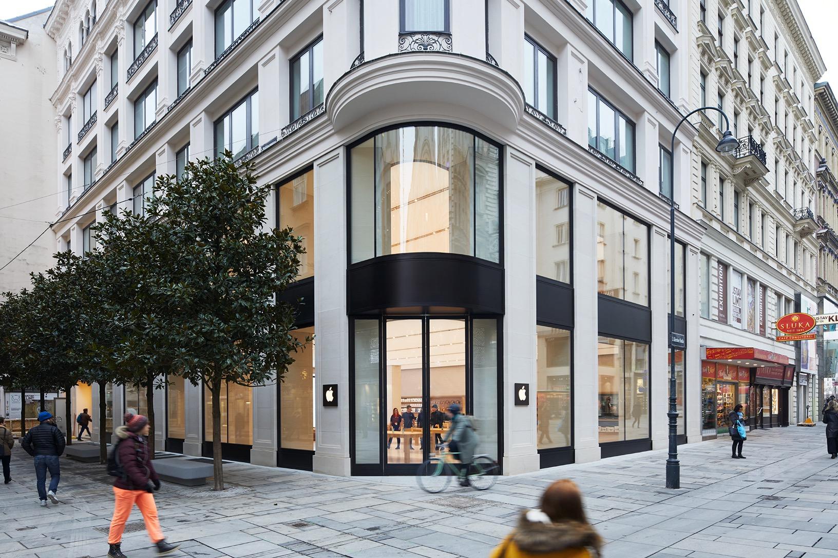 Vídeňský Apple Store