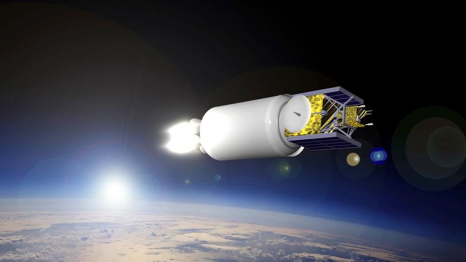 Druhý stupeň rakety Vulcan