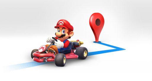 Trasu v Google mapách nově dokáže navigovat legendární Mario od Nintenda