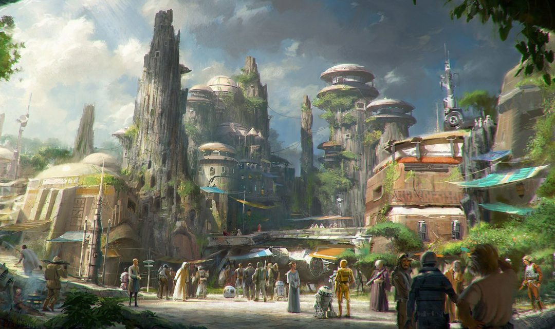 Disney ukázalo výstavbu zábavního komplexu ve stylu Star Wars, do kterého investuje až dvě miliardy dolarů