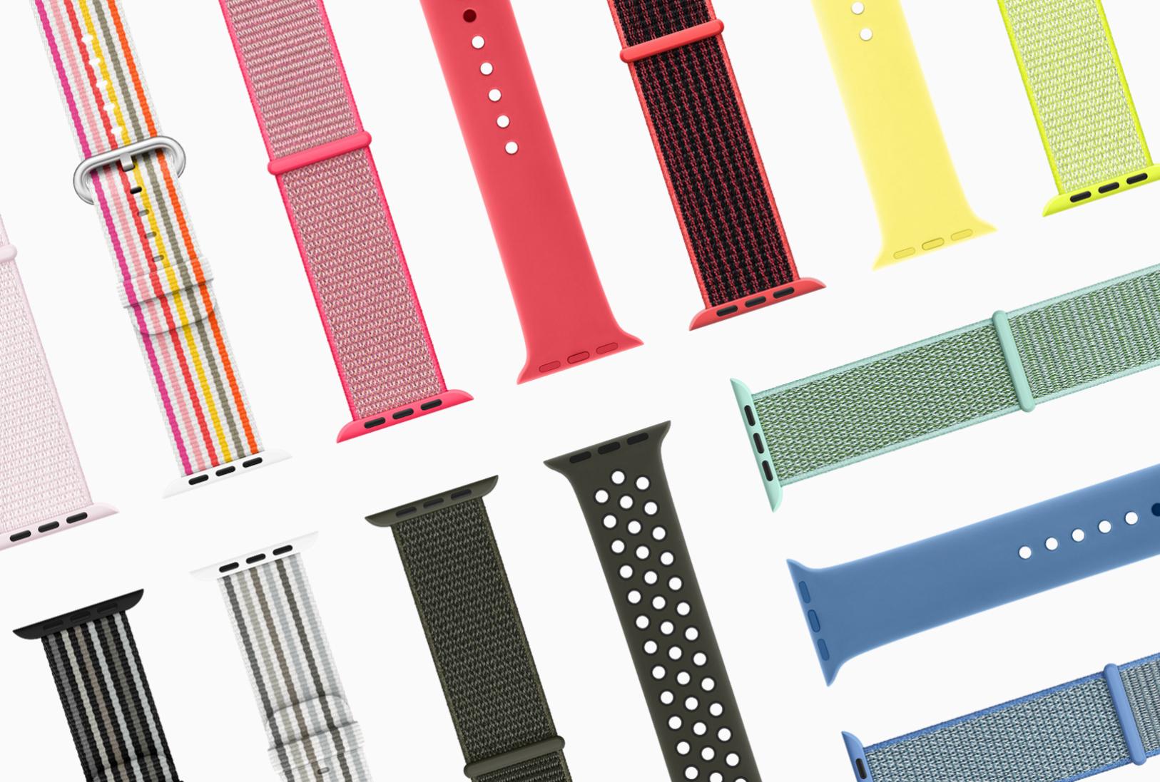 Aktuální jarní edice pásků pro Apple Watch