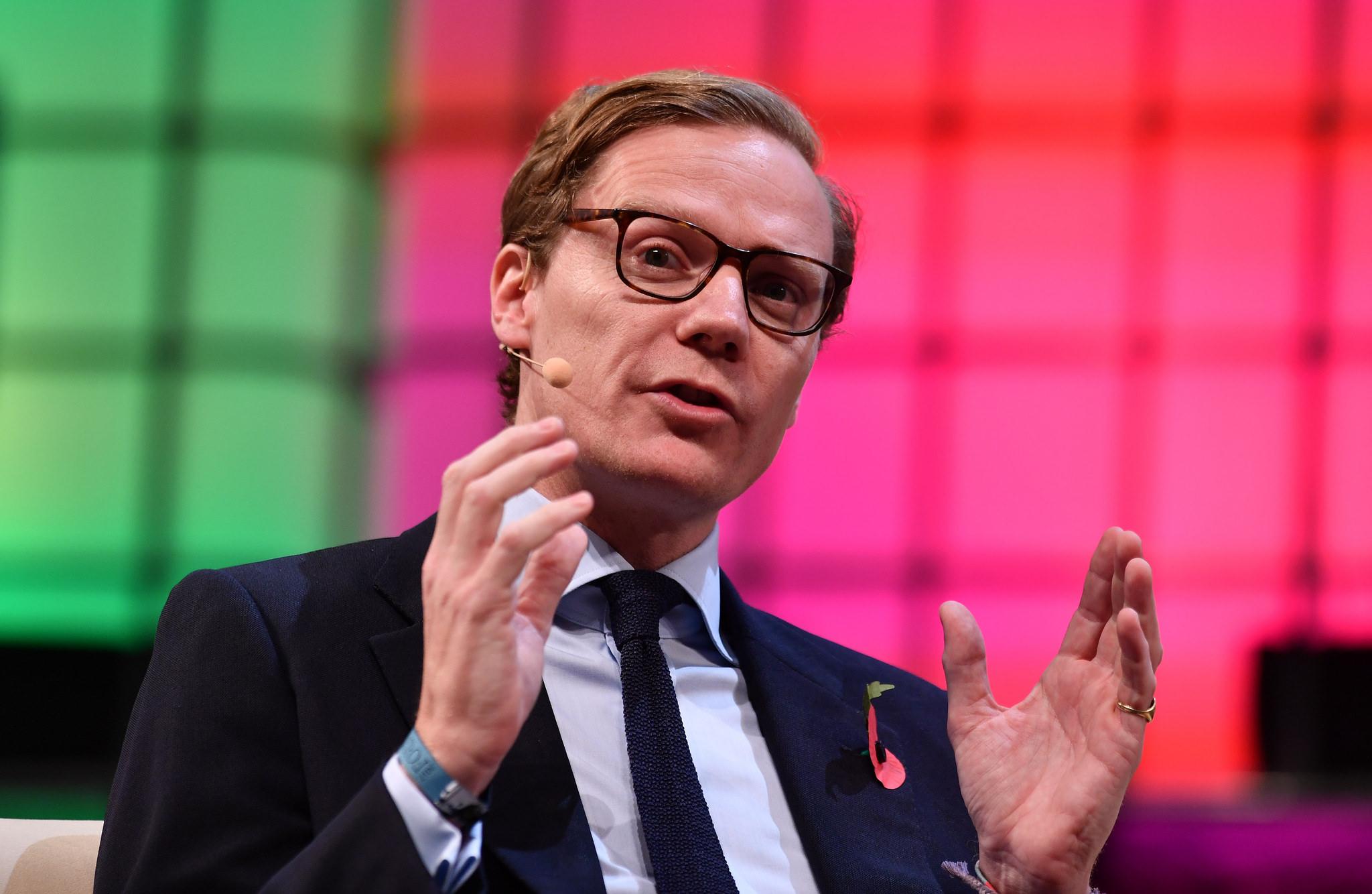 Alexander Nix, suspendovaný CEO analytické společnosti Cambridge Analytica
