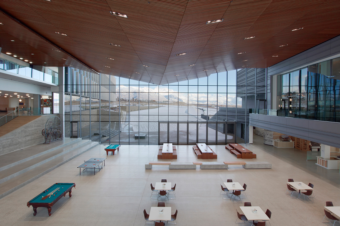 Kampus Adobe v americkém Utahu.