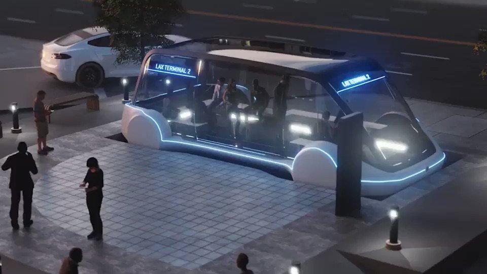 Elon Musk odhalil detaily kolem podzemního přepravního systému Boring Company