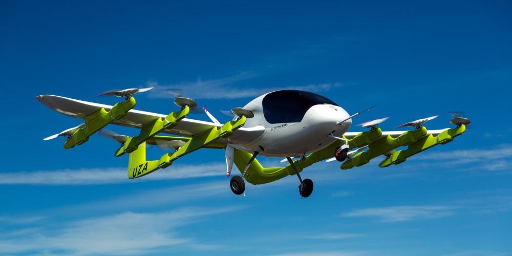Létající taxi financované spoluzakladatelem Googlu mají fungovat už za tři roky