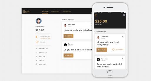 Směnárna kryptoměn Coinbase za více než 120 milionů dolarů kupuje startup Earn.com