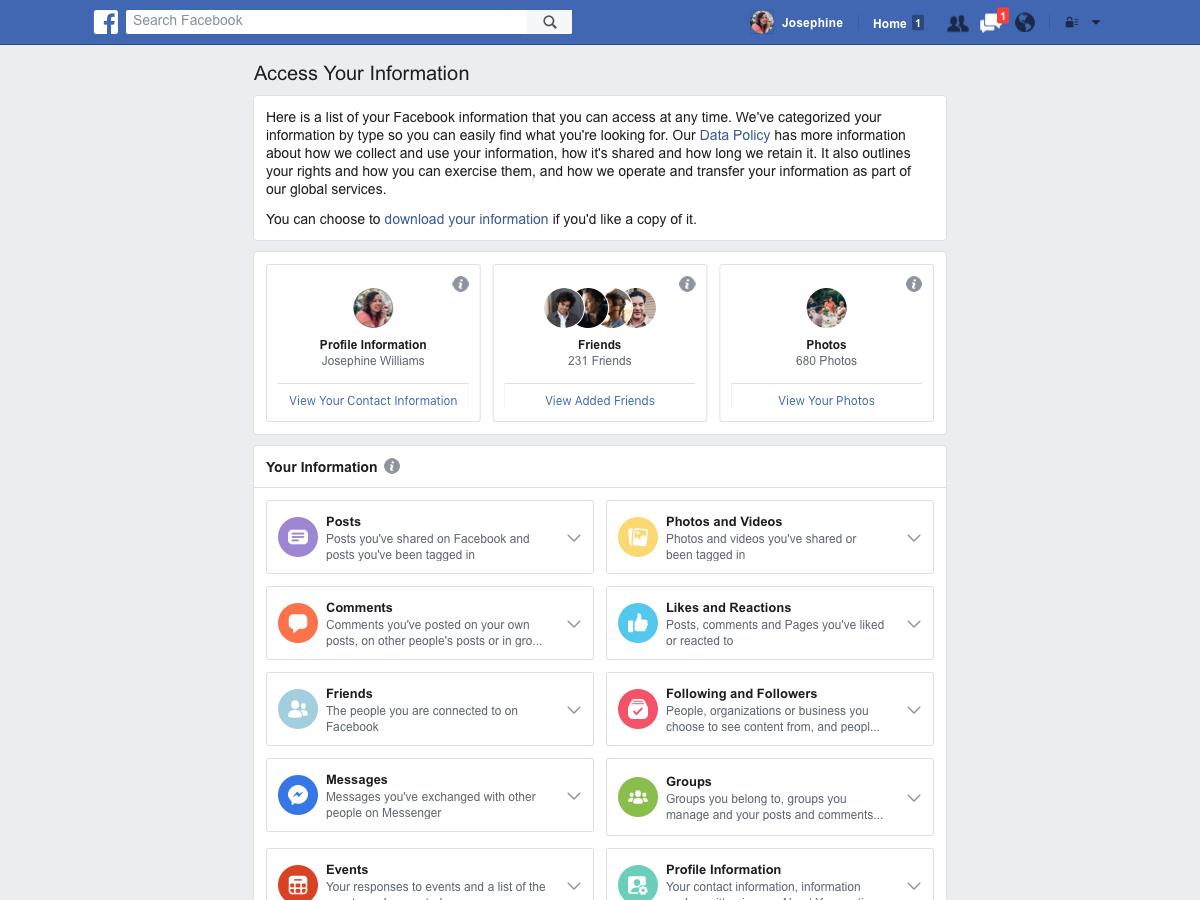 Nové a přehlednější nastavení soukromí na Facebooku