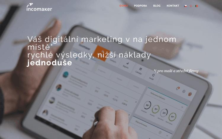 Česko-portugalský startup Incomaker chce crowdfundingem na Fundlift.cz vybrat 5 milionů Kč