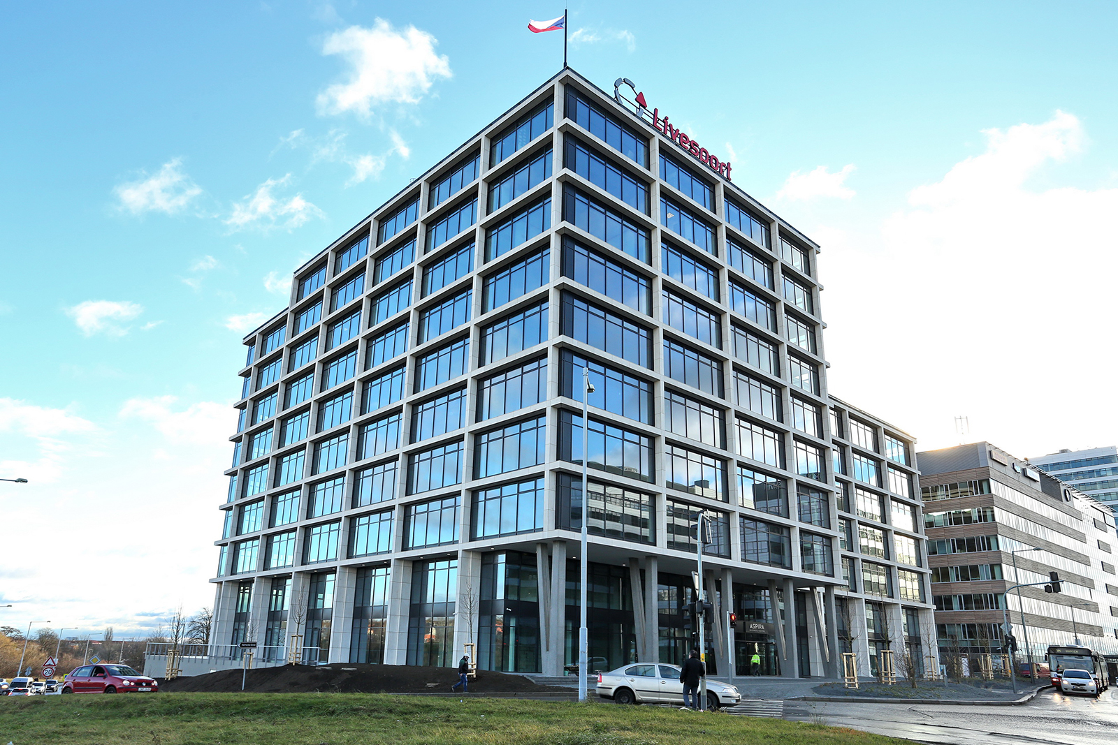 Sídlo Livesport v pražských Nových Butovicích