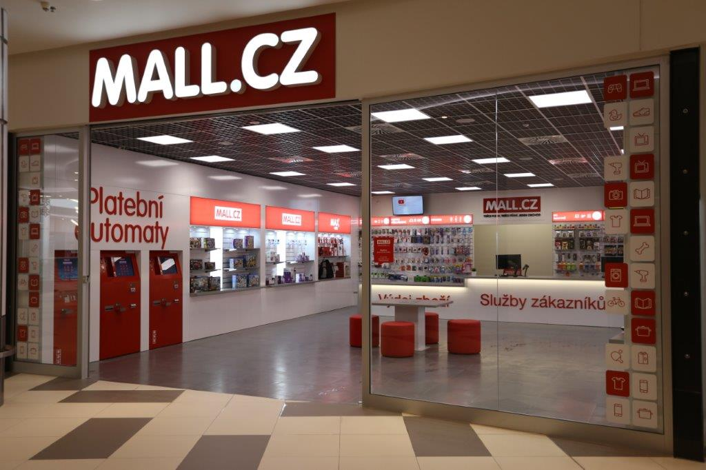 Nový koncept prodejen Mall.cz