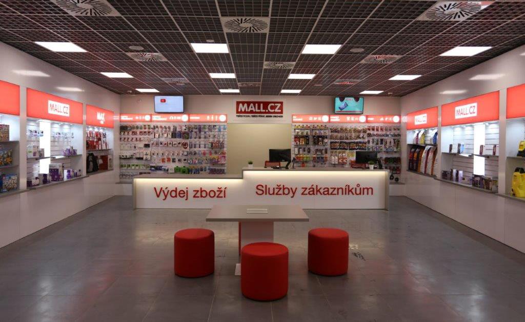 Mall.cz v Praze zavádí nový koncept prodejen. Kombinuje showroom a výdejnu