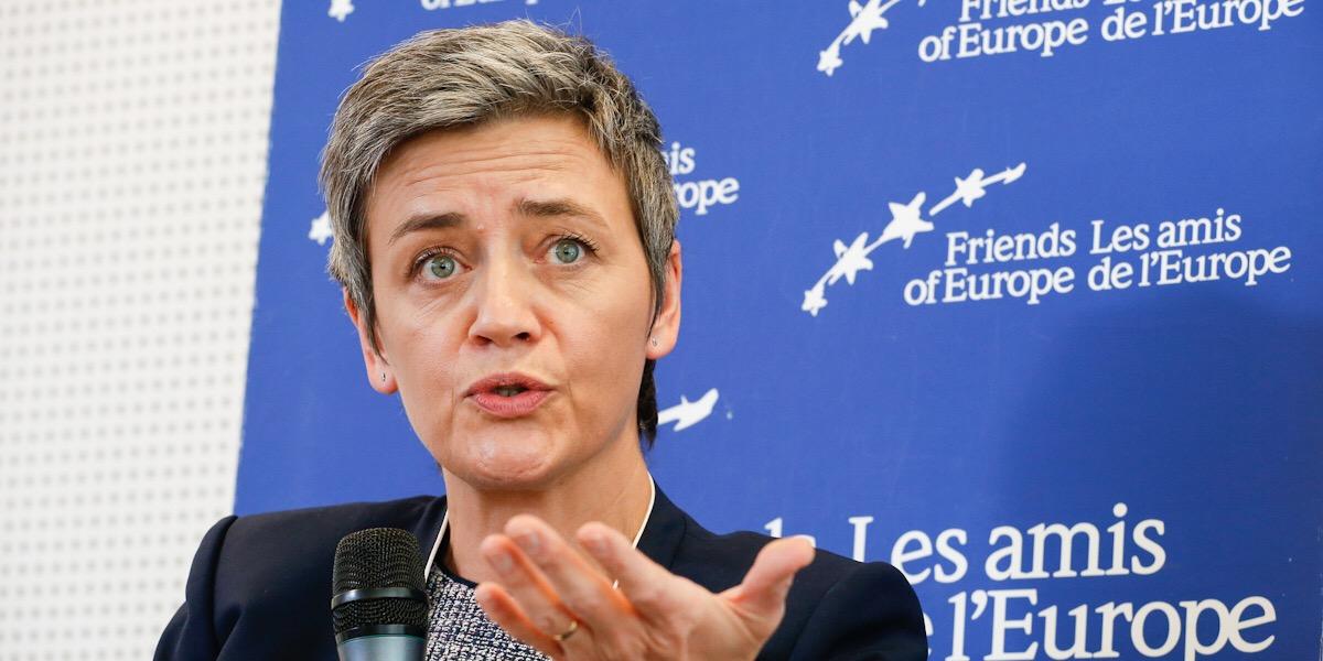 Margrethe Vestager, eurokomisařka pro hospodářskou soutěž Evropské komise