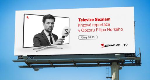 Seznam.cz se svým kanálem Televize Seznam zahajuje outdoorovou propagaci