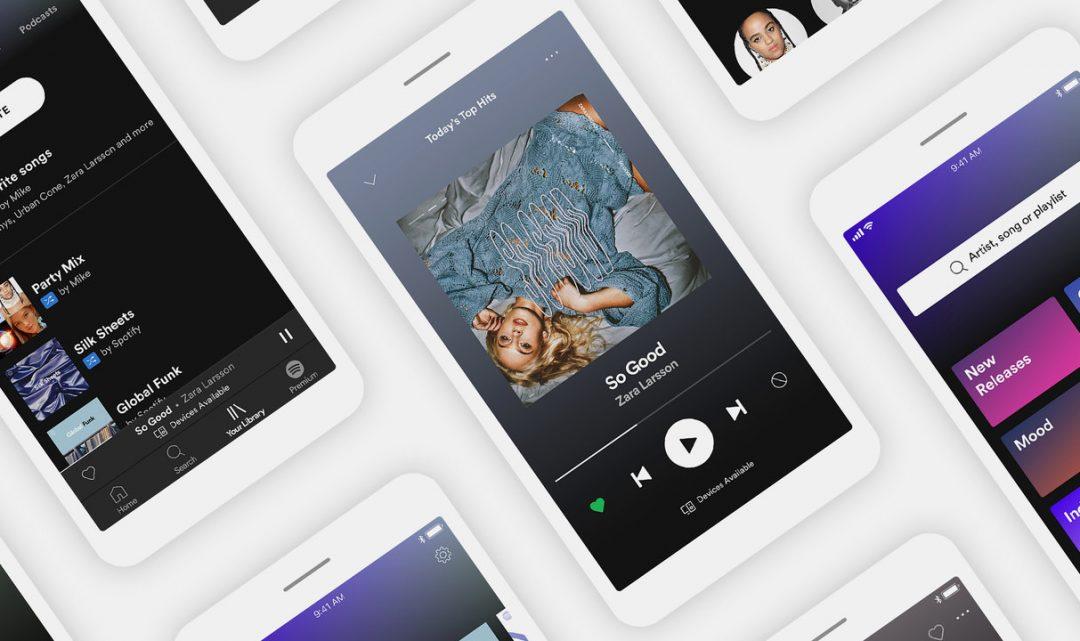 Spotify nově umožňuje neplatícím uživatelům neomezené přehrávání vybraných playlistů