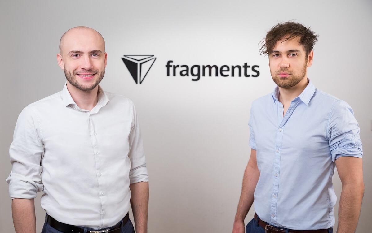 David Hrachový (CEO) a Petr Šigut, spoluzakladatelé startupu Fragments