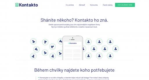 Český Creative Dock spustil startup Kontakto, chytrou aplikaci na správu firemních kontaktů