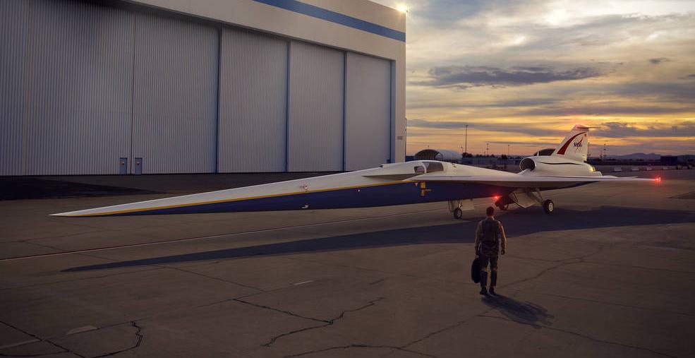 NASA začala vyvíjet nadzvukové letadlo pro civilní přepravu