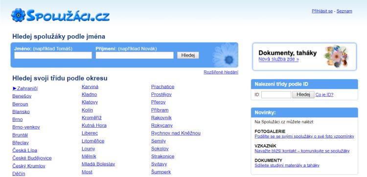 Seznam.cz ukončuje svou dlouholetou sociální službu pro studenty a absolventy Spolužáci.cz