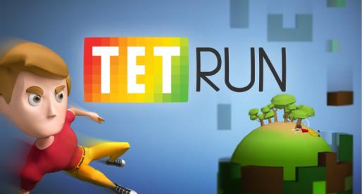 Čeští Cableek Games vydali parkourovou hru Tetrun s variabilním prostředím