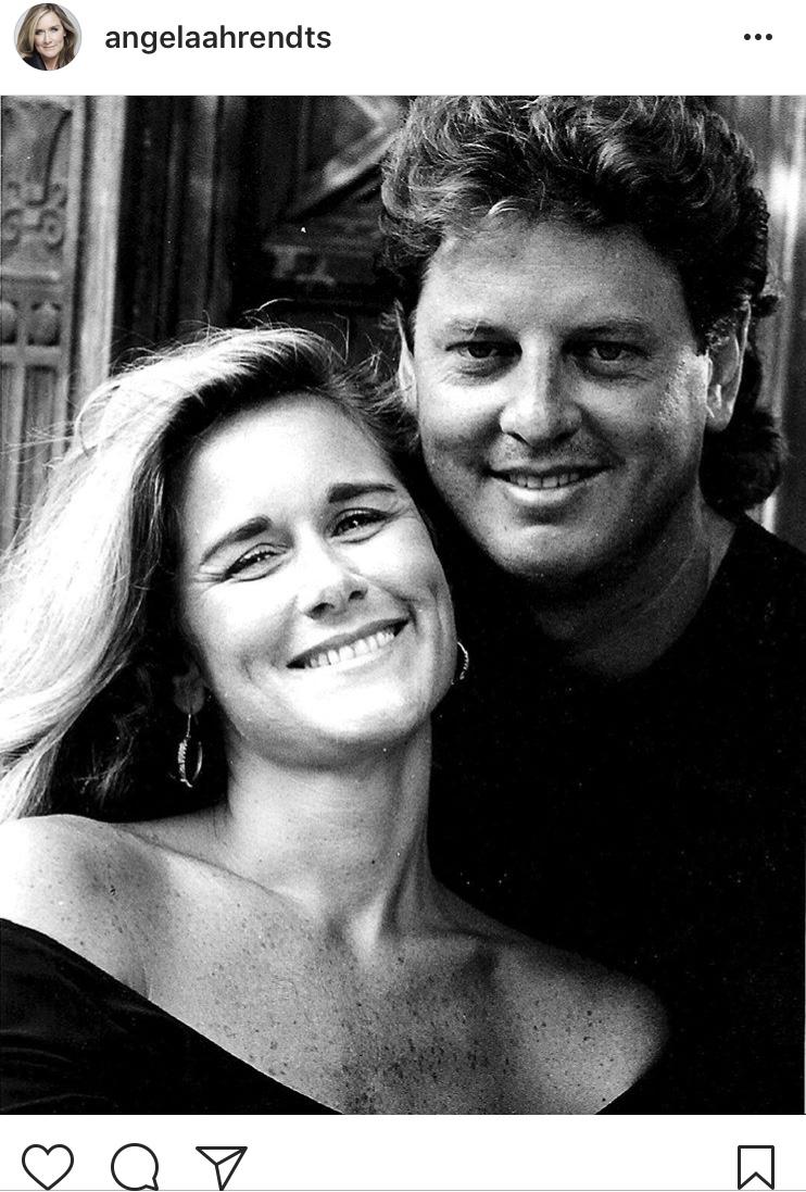 Angela Ahrendts se svým manželem