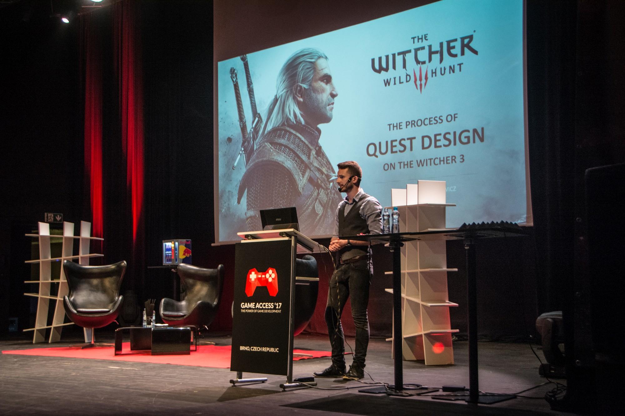 Pohled na stage během loňského ročníku Game Access Week