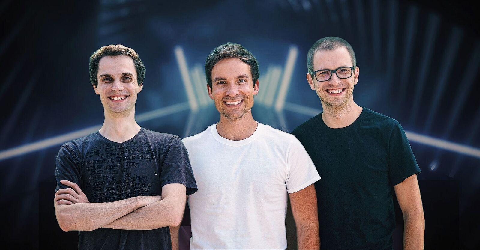 Tvůrci Beat Saberu: Vladimír Hrinčár, Jaroslav Beck a Ján Ilavský
