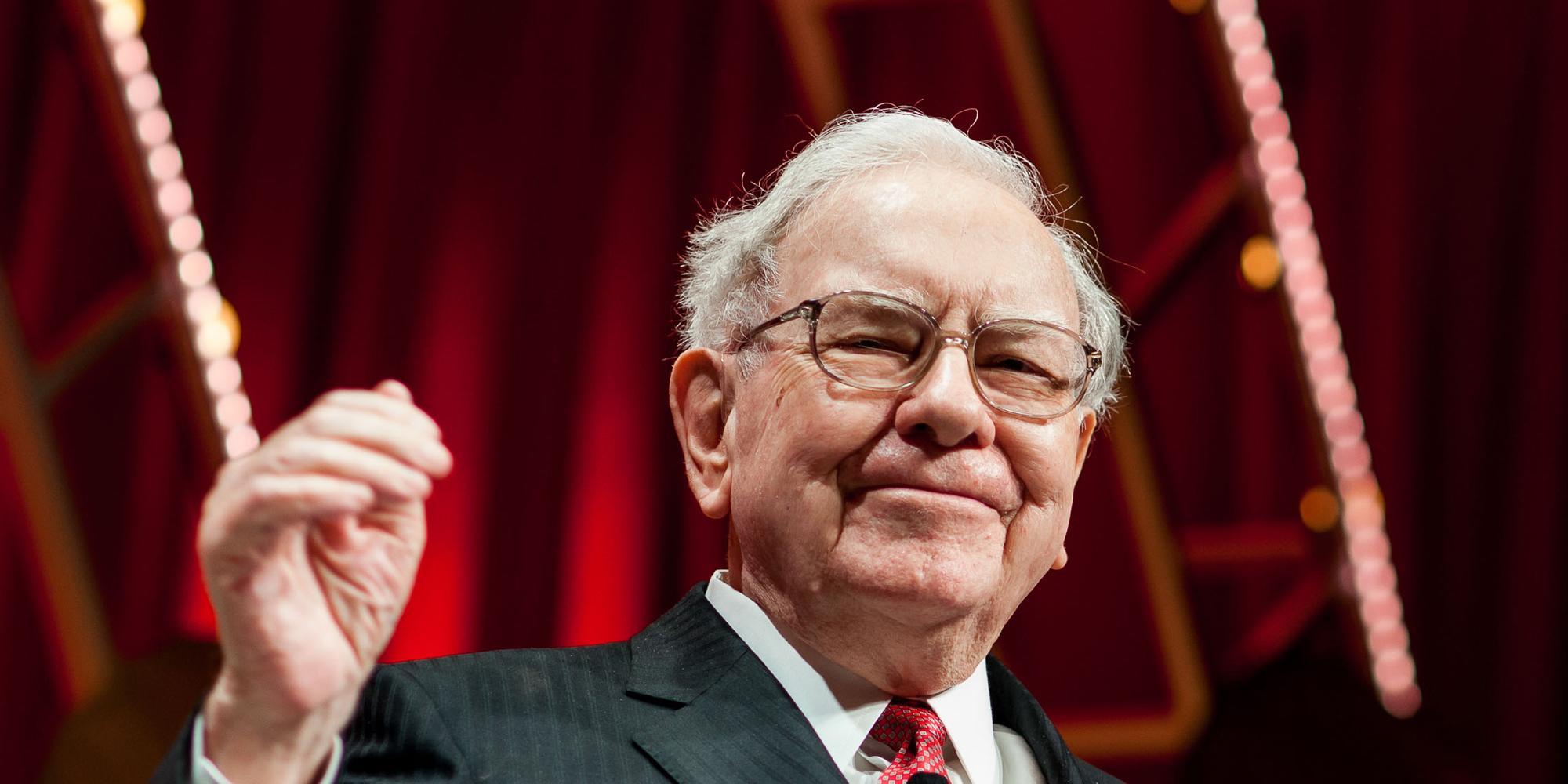 Čtvrtý nejbohatší člověk Warren Buffett