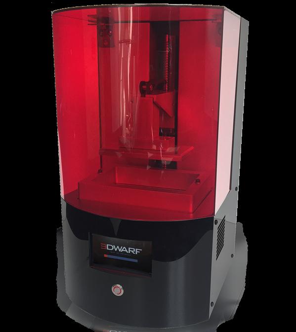 LED 3D tiskárna Dwarf3 od Futur3D