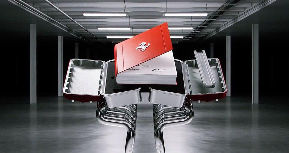Ferrari vydává ve spolupráci s Taschen limitovanou knihu mapující historický vývoj svých vozů