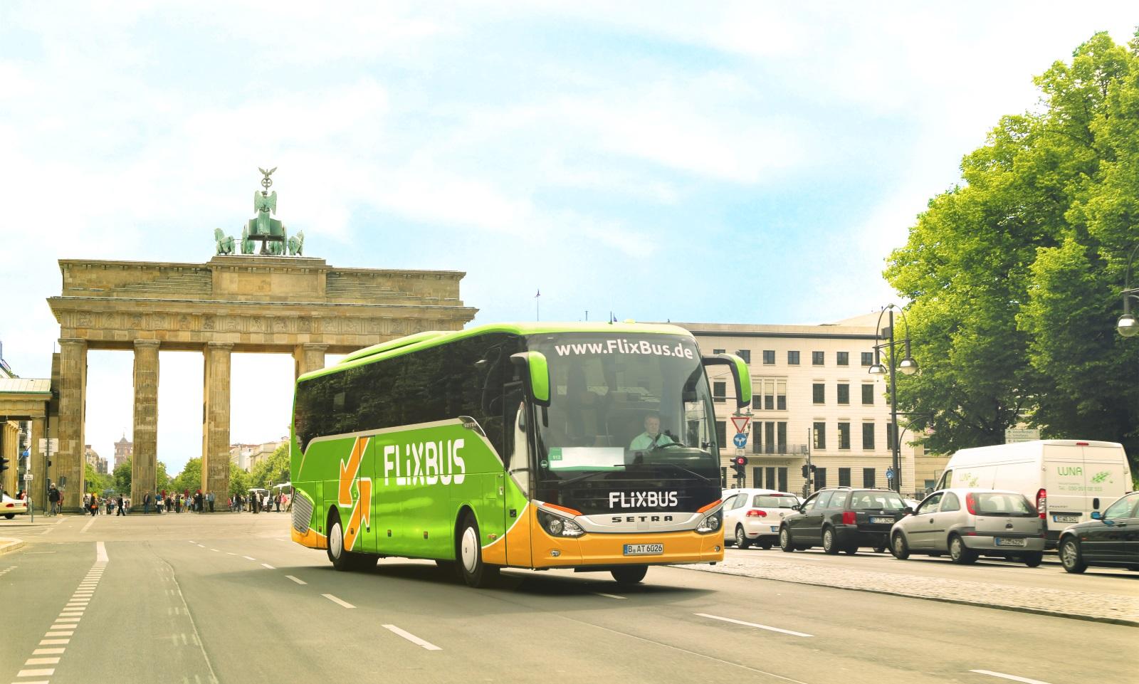 FlixBus v Berlíně