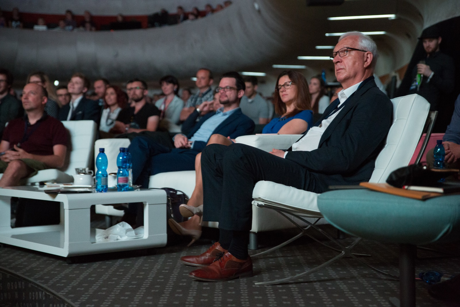 Jiří Drahoš a publikum na konferenci Glorious