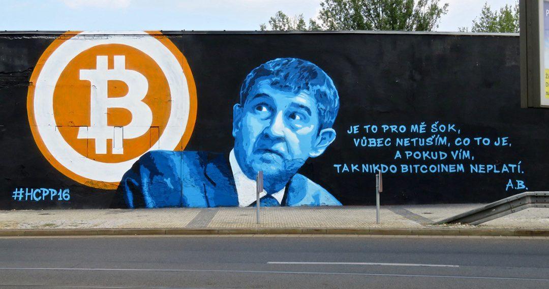 Praha má nejvyšší počet míst na světě, které přijímají mezi platbami kryptoměnu bitcoin