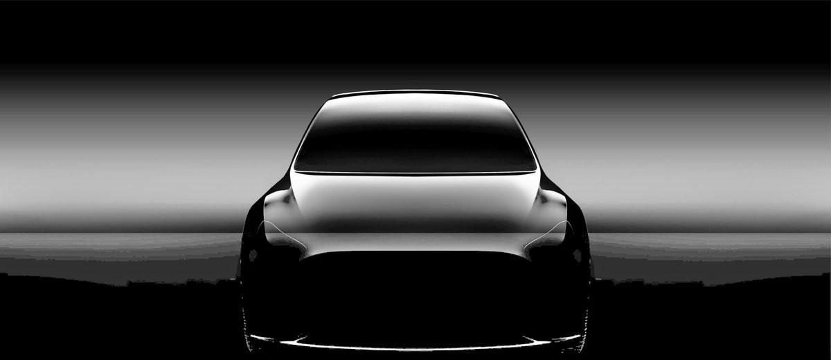 První neurčitý pohled na chystaný Tesla Model Y