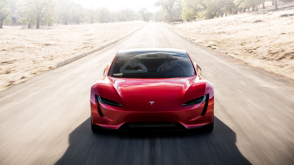 Nová podoba Tesla Roadsteru